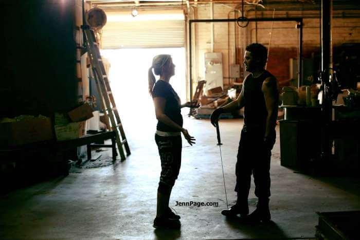 Jenn Page directing.