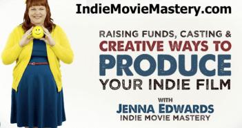 Award-winning producer Jenna Edwards & creator of IndieMovieMastery.com on ActingUpRadio.com 1
