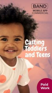 casting toddlers and teens
